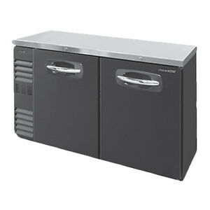 Nor lake Nlbb60n 60 Two Section Refrigerated Back Bar Storage Cabinet