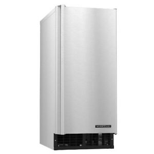 Hoshizaki Am 50baj Cube style Ice Maker With Bin 55 Lb Production