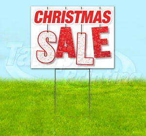 X10 Christmas Sale Yard Signs And Stakes Coro Advertising 24x18