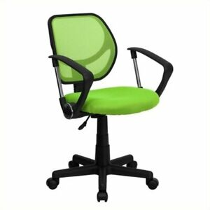 Scranton Co Mid back Mesh Task Office Chair With Arms In Green