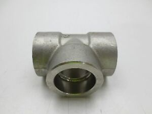 Stainless Steel 1 Threaded Tee Fitting