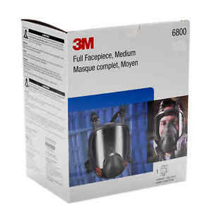 3m 6800 Full Face Respirator Mask Medium