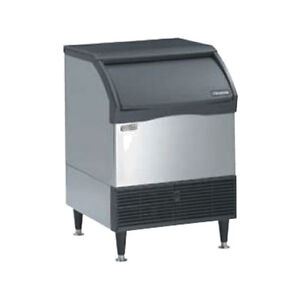 Scotsman Cu3030sw 1 Small Cube style Ice Maker With 110 Lb Bin Storage Capacity