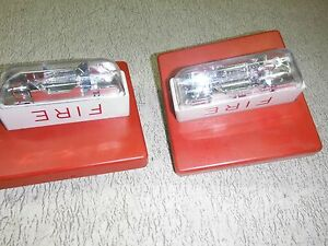 Wheelock Rss 24mcc Signal Appliance Fire Alarm Lot Of 2 Used