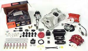 Fast 3012350 10 Xfi Sbc Small Block Chevy Efi Fuel Injection Kit 1000hp