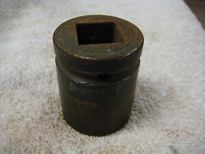 Snap On Tools Shallow Impact Socket 1 Inch 6 Point 3 4 Drive Im 322