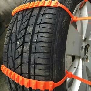 10 Pcs Snow Tire Chain For Car Truck Suv Anti skid Emergency Winter Driving
