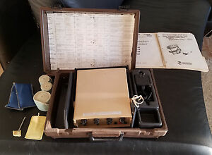 Chattanooga Electrotherapy Portable Hvs Intelect Model 550 Fischer Galvanic Md