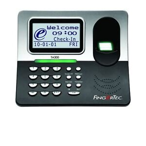 Fingertec Time And Attendance Usb Time Clock Ta300