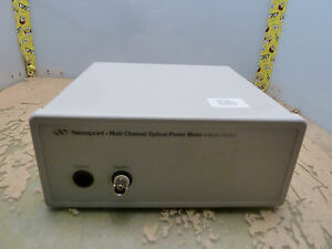Newport Multi channel Optical Power Meter 4832 c Cal Due 12 31 16 14 h
