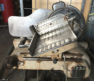 Vintage Antique Berkel U s Slicing Machine Meat Cheese Slicer Deli sl1130