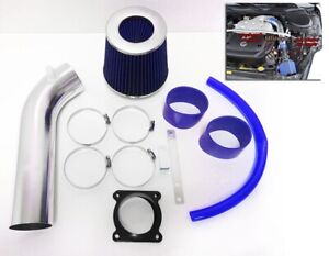 Blue For 2003 2004 2005 2006 Infiniti G35 3 5l V6 Air Intake System Kit Filter