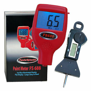 Fendersplendor 688 Paint Meter With 29 95 Digital Tire Tread Depth Gauge