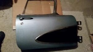 1958 Corvette Right Side Door Complete With Glass Hinges Etc