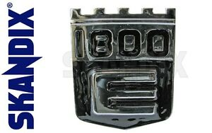 Emblem Rear Panel All Volvo P1800e From 1970 To 1972