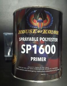 House Of Kolor Polyester Primer Kit Sp1600 Gallon