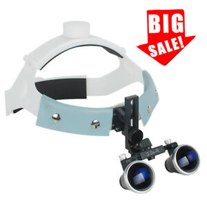 Usa Headband Type Dental Medical Surgical Binocular Loupes 3 5x 420mm Magnifier