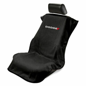 Brand New Seat Armour Black Dodge Front Seat Cover Towel Ram Challenger Charger