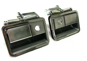 1970 1974 Dodge Challenger Chrome Outside Door Handles Pair
