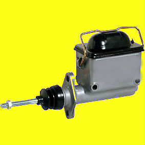 Pro Series Master Cylinder Aluminum Natural 3 4 In Bore High Volume