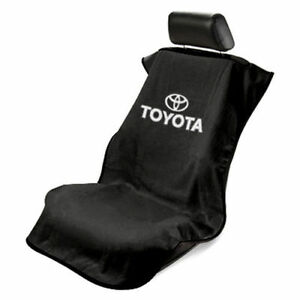 New Black Universal Seat Armour Front Seat Cover Towel For Toyota Camry Corolla