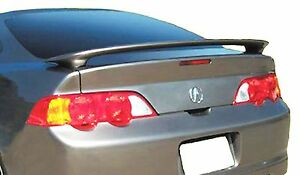 2002 2006 Acura Rsx Factory Style Rear Spoiler Wing Unpainted Gray Abs