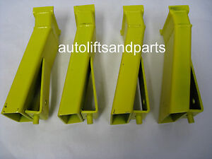 11 Truck Height Extensions Adapters For Rotary Lift Set Of 4 New