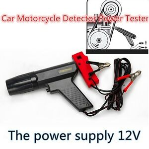 Car Motorcycle Detector Power Tester Ignition Test Engine Timing Tools Repair
