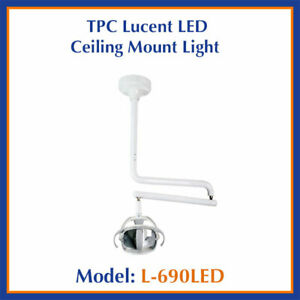 Tpc Dental Lucent Led Ceiling Mounted Operatory Light L690 led 8 9 Or 10