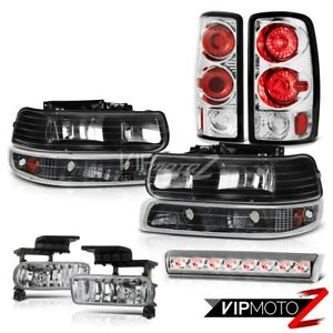 2000 2006 Chevy Tahoe Ls Chrome Roof Cab Lamp Fog Lamps Tail Lights Signal Lamps