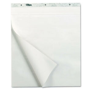 Tops Notes Plus Self Stick Easel Pad Unruled 25 X 30 White 30 Sheets 2