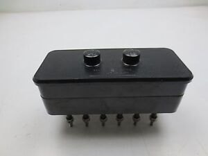 Ge General Electric 6422120g3 Pk 2 Test Block 6 pole