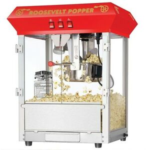 Commercial Professional Stainless Steel Tabletop Popcorn Maker Popper Machine
