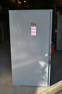 Square D H367n 800a 600v Disconnect Switch With Fuses