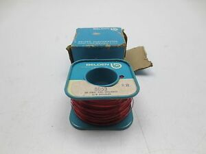 New Roll Belden 8053 26 Awg Sgl Bedsol 1 2 Pound Insulated Copper Core Wire