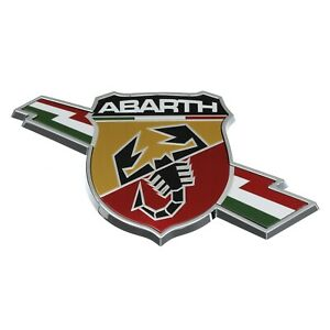 2017 Fiat Spider Abarth Emblem Badge Nameplate Left Body Side Oem Fiat Genuine