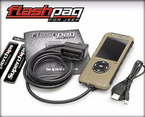 Superchips Flashpaq F5 Programmer 3874 For Jeep Wrangler Jk Unlimited 07 14