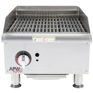 Apw Wyott Gcrb 18i Countertop Gas Champion Charrock Broiler