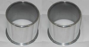 2 Cap Deal Weld Racing 4x4 Open End Aluminum Wheel Rim Center Cap 4 25 Dia Bore