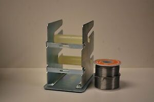 Double Solder Dispenser With 1 Lb Roll Of Solder 60 40 061