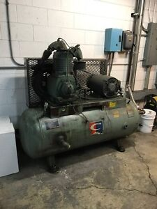 15hp 2 Stage Champion Air Compressor 230 460v 3 Phase