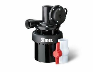 Pentair Water flotec simer 2935b Automatic Utility Sump Sink Pump Thermoplastic