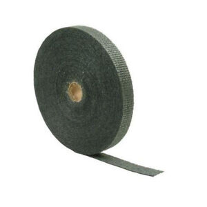 1in X 100ft Roll Of Black Fiberglass Exhaust And Header Wrap Dei 010118