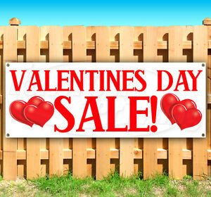 Valentines Day Sale Advertising Vinyl Banner Flag Sign Many Sizes Available Usa