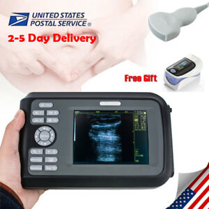 Fetal Monitor 5 5 Digital Ultrasound Scanner 3 5mhz Convex Probe 64 Cases Ce