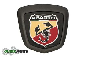 2017 Fiat 500 124 Spider Abarth Decklid Trunk Emblem Badge Oem Mopar Genuine New