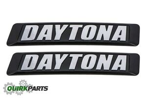 17 18 Dodge Charger Daytona Grille Emblem Badge Nameplate Oem Mopar Genuine