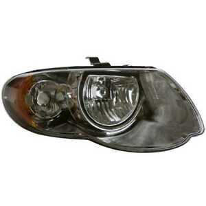 Right Head Lamp Assembly Without Bulb Fits 05 2006 2007 Chrysler Town