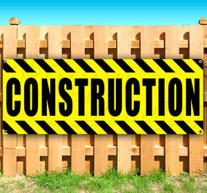 Construction Advertising Vinyl Banner Flag Sign Many Sizes Available Usa
