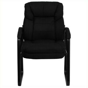Flash Furniture Exclusive Executive Side Guest Chair In Black